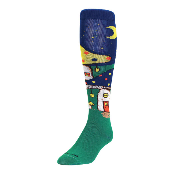 Mushroom Village Over The Calf Sport Socks