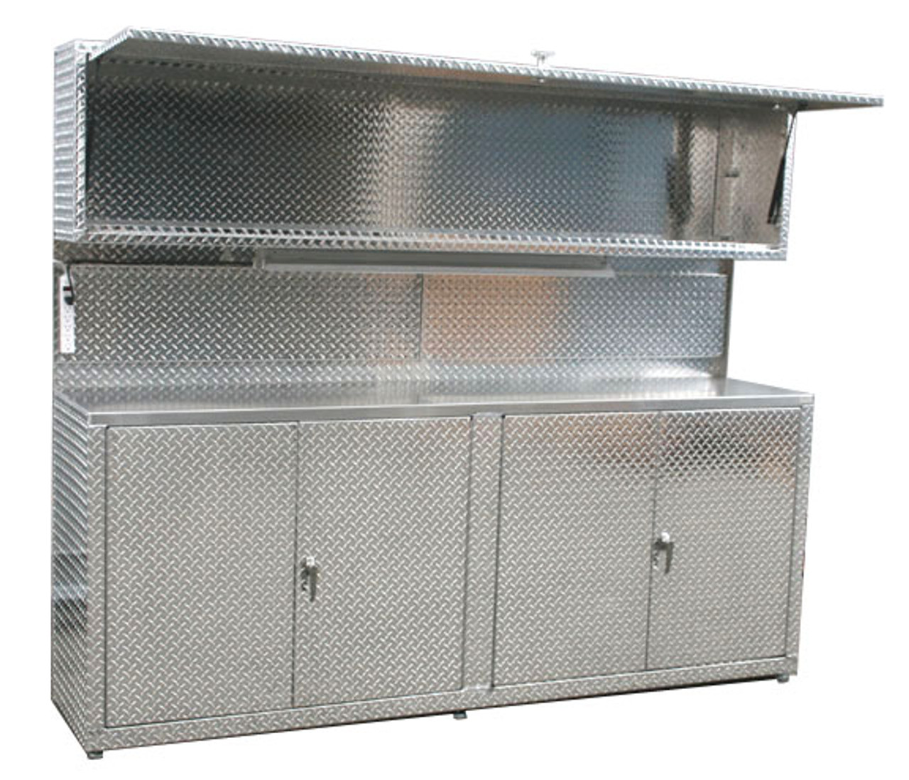 8u0027 Cabinet With Upper Cabinet