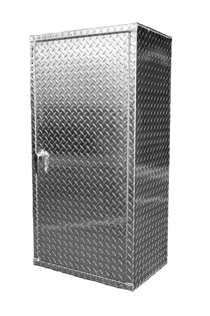 Build Your Own Diamond Plate Storage Locker