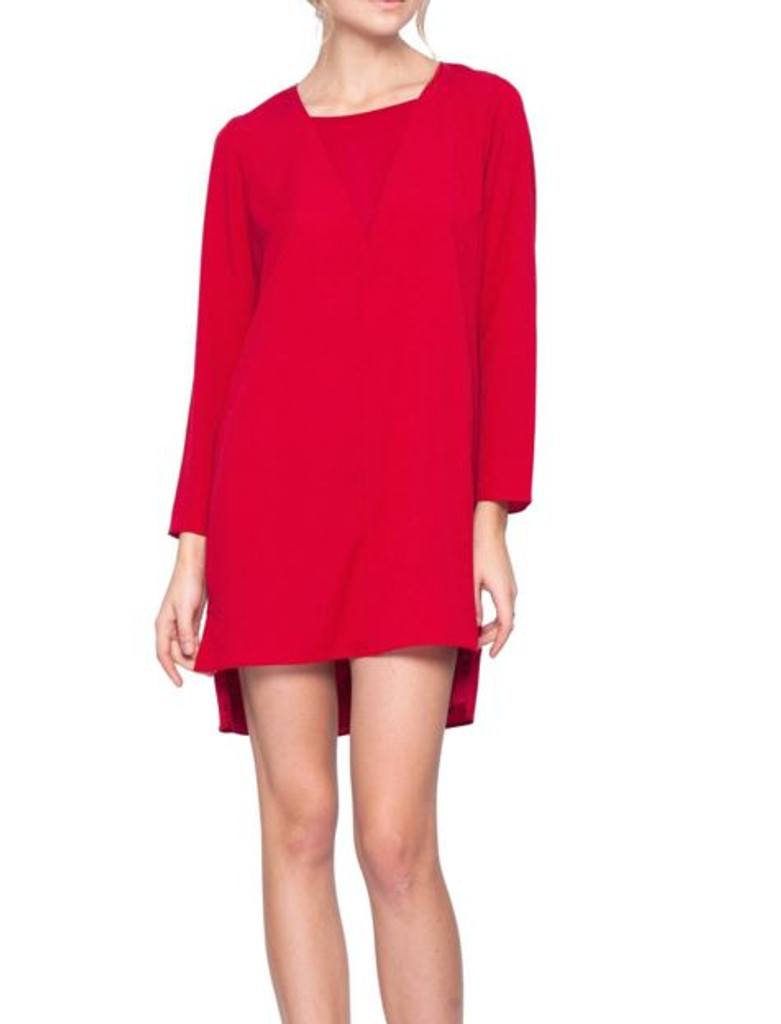 Gentle Fawn Rosalyn Dress in Crimson