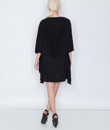 Miilla Drape Panel Back Knit Dress