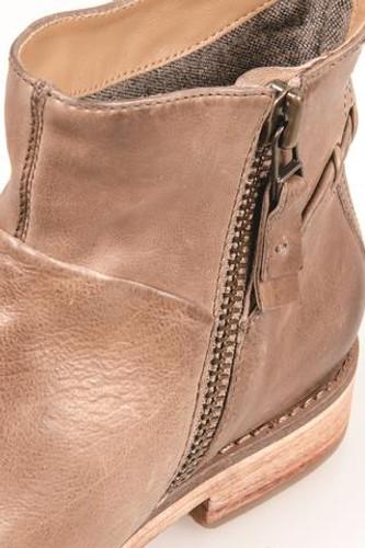 J Shoes Cait Zip Up Bootie - Pebble