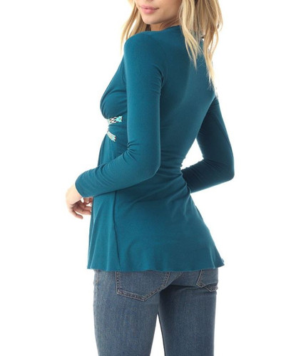 Sky Clothing Babs Top - Teal