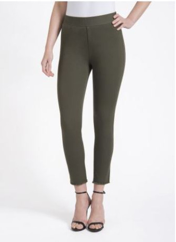 Lysse - Lexi Twill Crop Pant - Ivy