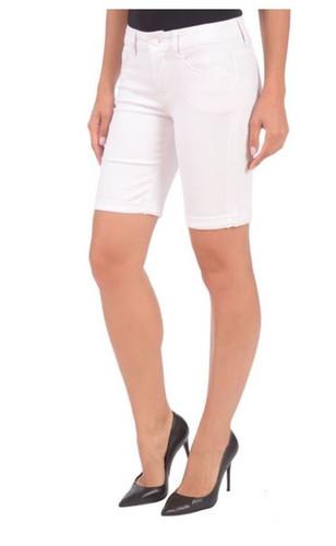Lola Jeans  - Elisa Bermuda - White
