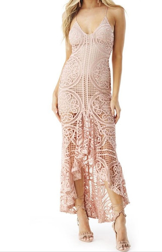 Sky Clothing Olayee High-Low Dress - Blush