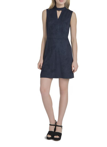 Lysse Suede Dress - Midnight