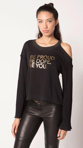 "Feel The Piece - Tyler Jacobs - Delphine ""Be Proud"" Sweatshirt"