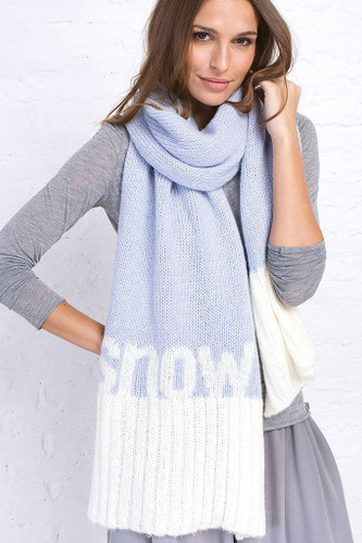 Wooden Ships - Snow XL Scarf