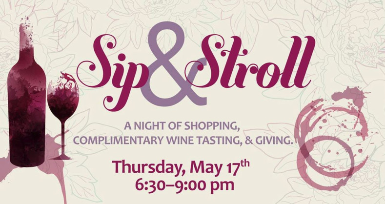 Sip & Stroll Wine Walk benefiting DCFOF