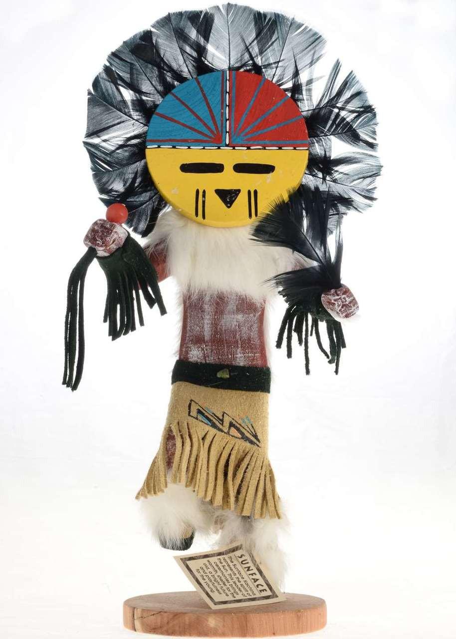 Sunface Kachina Doll Sunface Kachina Navajo Kachina