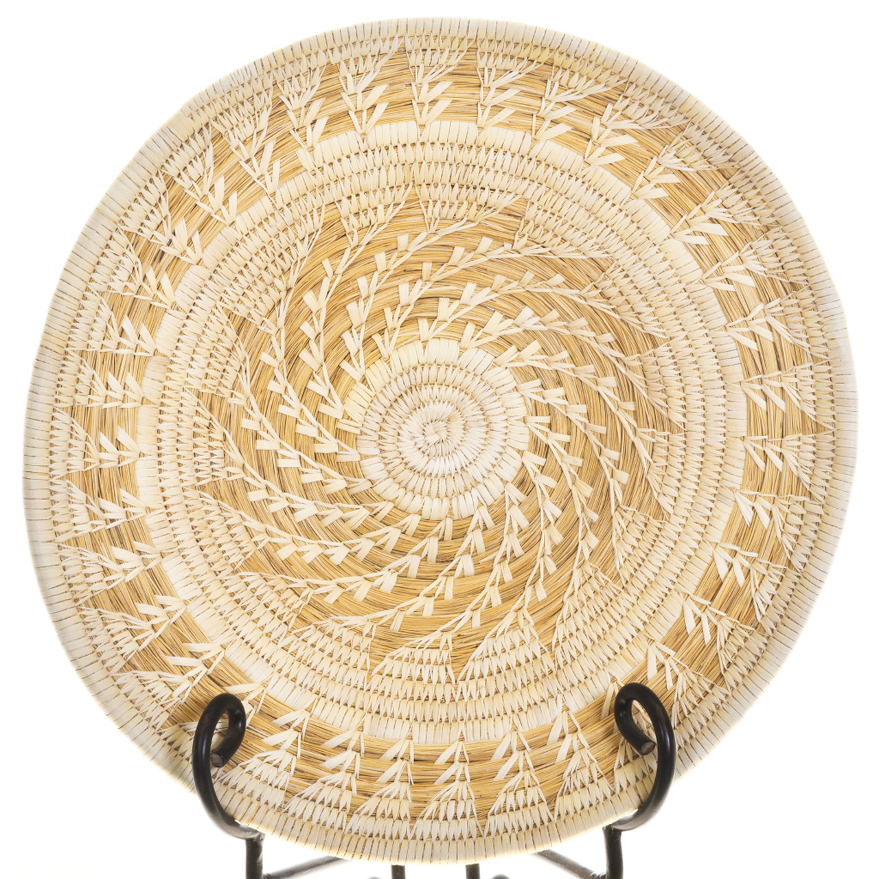 Large Papago Tohono Oodham Basket 30258