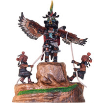Eagle Mudheads Kachina Dolls 21708