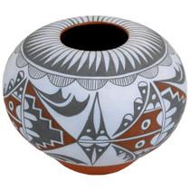 Polychrome Jemez Pot