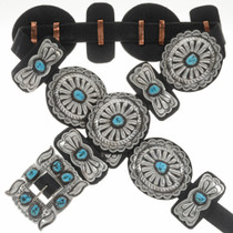 Sterling Fifties Style Concho Belt 24118