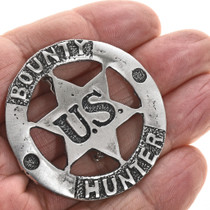 Old West Style Silver Badges 13119