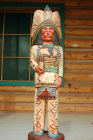Cigar Store Indian Frank Gallagher 4 Footer 0260-IND