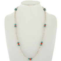 Navajo Desert Pearl Bead Necklace 23121