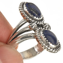 Ladies Navajo Made Lapis Ring 25930