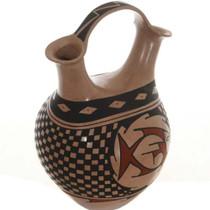 Polychrome Fish Vase 26699