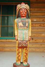Cigar Store Indian Frank Gallagher 4 Footer 2