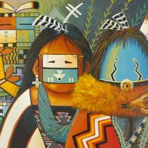 Navajo Yei Print 16394