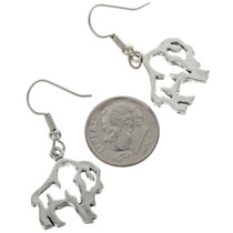 Dangling Buffalo Earrings