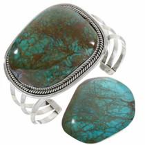 Navajo Bold Turquoise Bracelet 22614