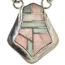Opal Silver Southwest Choker 15180