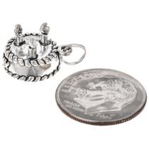 Sterling Silver Birthday Cake Charm Bracelet Charm Pendant Necklace