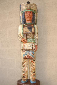 Cigar Store Indian by Frank Gallagher 5 Footer