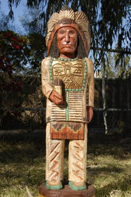 Cigar Store Indian Frank Gallagher 3 Footer