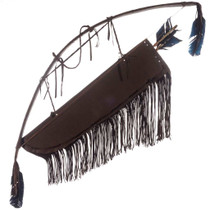 Indian Quiver Bow Arrows 25383