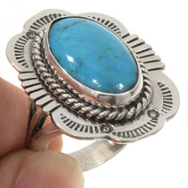 Navajo Turquoise Ring 26890