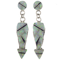 Arrowhead Opal Southwest Earrings 15110