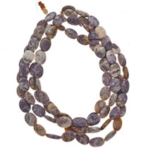 13mm by 17mm Charoite Beads 16 inch Strand