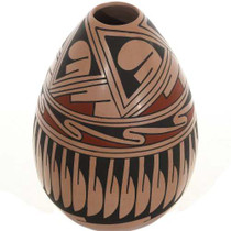 Polychrome Seed Pot 26654