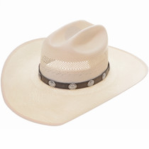 Silver Concho Hat Band 25755