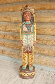 Cigar Store Indian Frank Gallagher 4 Footer 1