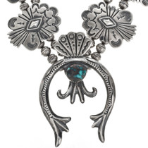 Turquoise Squash Blossom Jewelry 19683