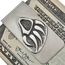 Sterling Native American Money Clip 25888