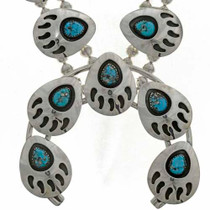 Turquoise Shadowboxed in Sterling 26279
