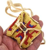 Buckskin Beaded Medicine Bag 30404