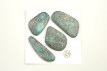 BOULDER & PICTURE MOUNTAIN Turquoise Cabochons Various Shapes 965 Carats