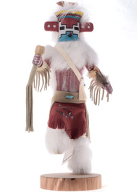 Snow Kachina Doll 19027
