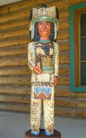 Cigar Store Indian Frank Gallagher 5 Footer