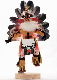 Yellow Ahote Kachina Doll 22035