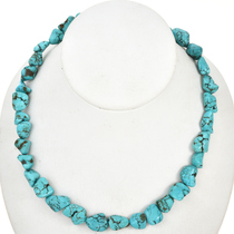 Turquoise Magnesite Bead Nuggets 30873