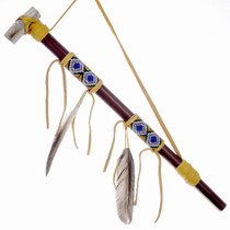 Smokable Indian Peace Pipe 24569