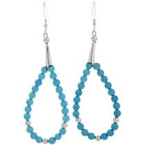 Native American Beaded Pueblo Style Earrings 23344